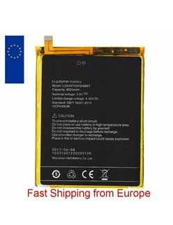 New Battery Li3834T43P6H8867 For UMI MAX 4000mAh - Fast Shipping from Europe